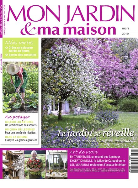Download mon jardin ma maison 602 pdf magazine for Magazine maison jardin
