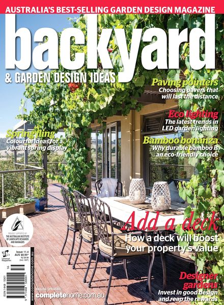 Backyard Garden Design Ideas Magazine Issue