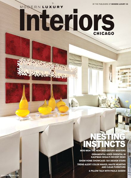 Download modern luxury interiors chicago magazine winter for Modern interior design magazines