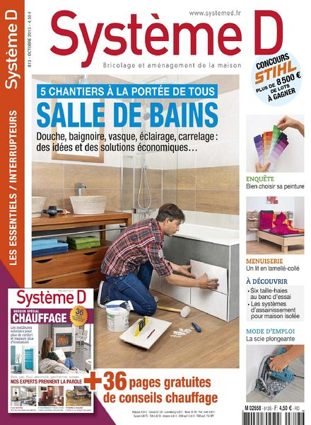 download systeme d n 813 octobre 2013 pdf magazine. Black Bedroom Furniture Sets. Home Design Ideas