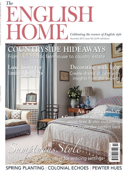 Download the english home magazine november 2013 pdf for English house magazine