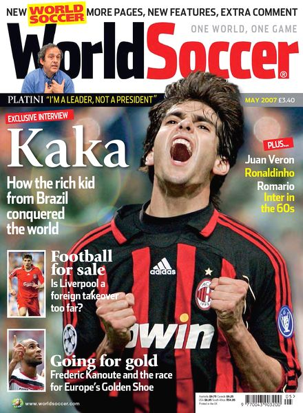 Download World Soccer – May 2007 - PDF Magazine