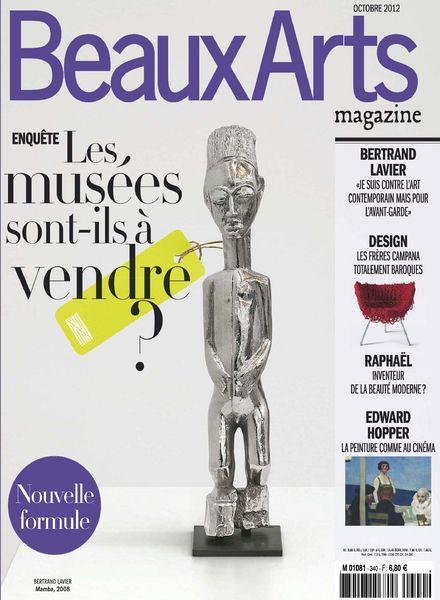 download beaux arts magazine n 340 octobre 2012 pdf magazine. Black Bedroom Furniture Sets. Home Design Ideas