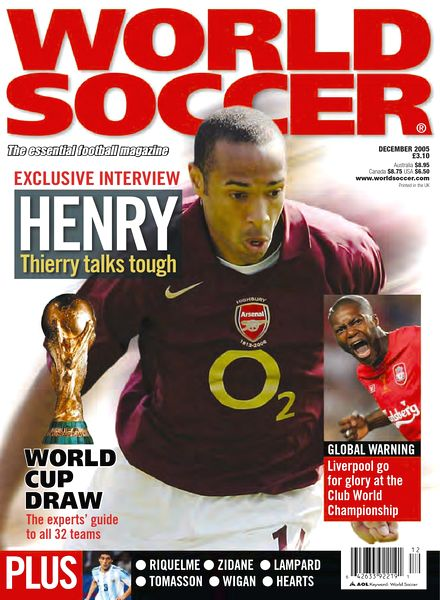 World Soccer - December 2005