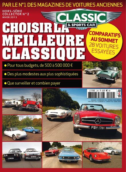 download classic sports car france hors serie collector n 2 hiver 2013 pdf magazine. Black Bedroom Furniture Sets. Home Design Ideas