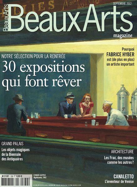 download beaux arts 339 septembre 2012 pdf magazine. Black Bedroom Furniture Sets. Home Design Ideas
