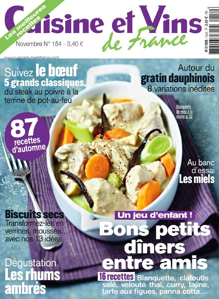 download cuisine et vins de france n 154 novembre 2013 pdf magazine. Black Bedroom Furniture Sets. Home Design Ideas