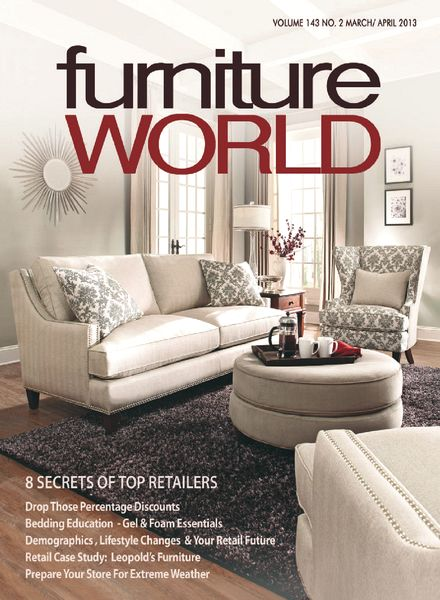 download furniture world march april 2013 pdf magazine