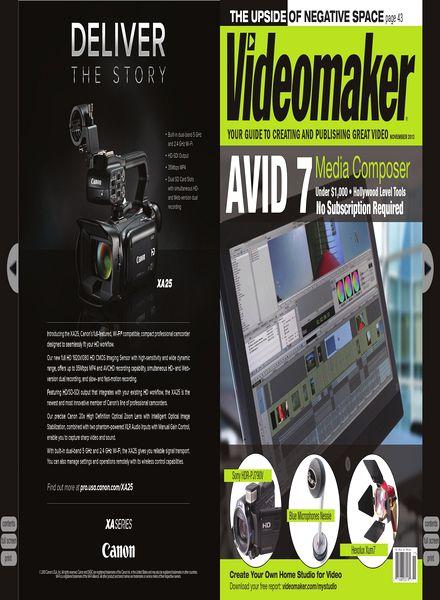 Videomaker - November 2013