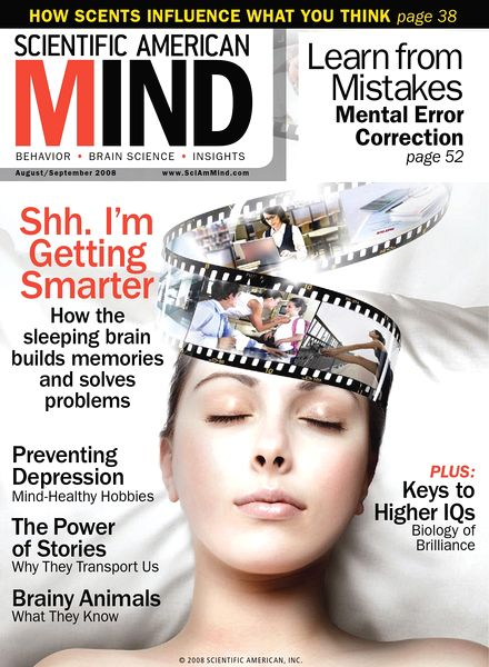 The Scientific American Mind App Edition includes all the editorial content from the print edition plus interactive features and video. Available through Scientific American Mind.