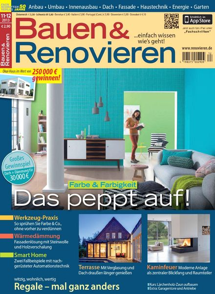 download bauen und renovieren november dezember 2013 pdf magazine. Black Bedroom Furniture Sets. Home Design Ideas