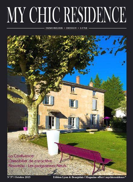 download my chic residence octobre 2013 pdf magazine. Black Bedroom Furniture Sets. Home Design Ideas