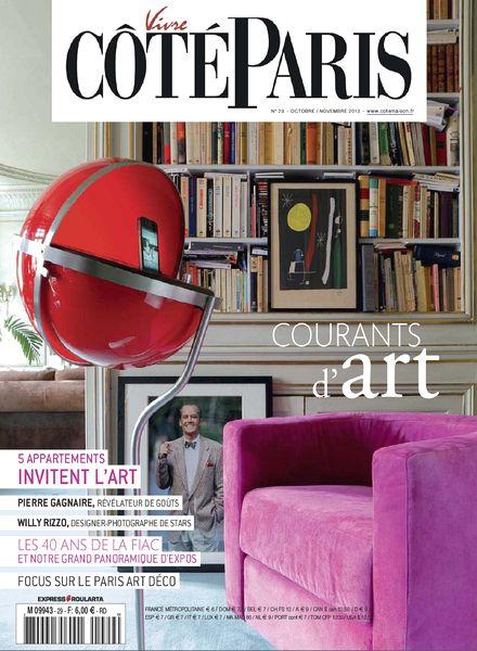 download vivre cote paris n 29 octobre novembre 2013. Black Bedroom Furniture Sets. Home Design Ideas