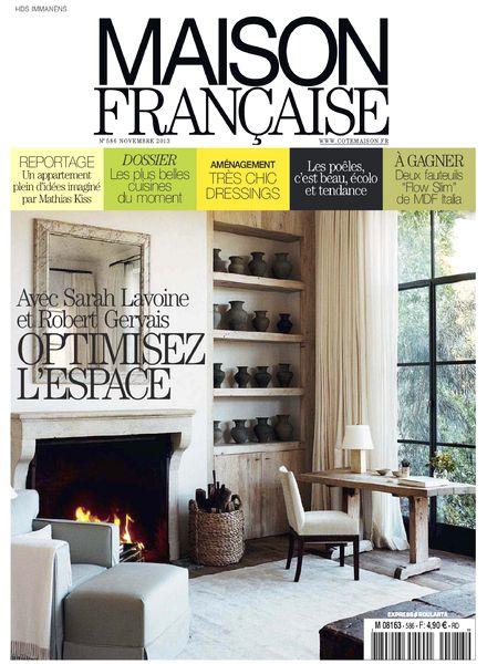 download maison francaise n 586 novembre 2013 pdf magazine. Black Bedroom Furniture Sets. Home Design Ideas