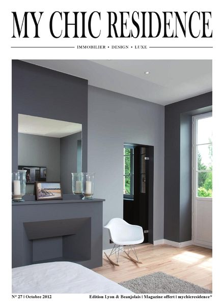 download my chic residence octobre 2012 pdf magazine. Black Bedroom Furniture Sets. Home Design Ideas