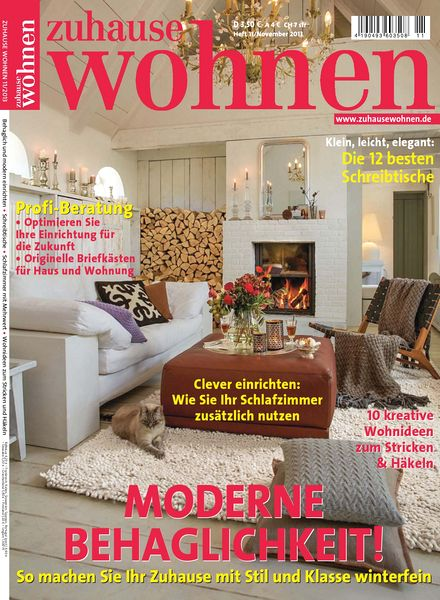 download zuhause wohnen november 2013 pdf magazine. Black Bedroom Furniture Sets. Home Design Ideas