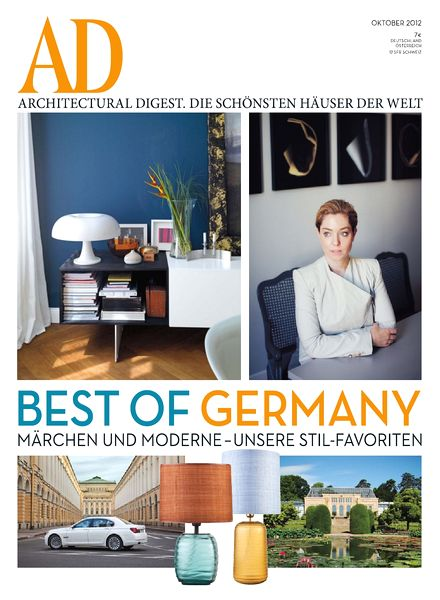 download ad architectural digest germany 2012 10 pdf magazine. Black Bedroom Furniture Sets. Home Design Ideas