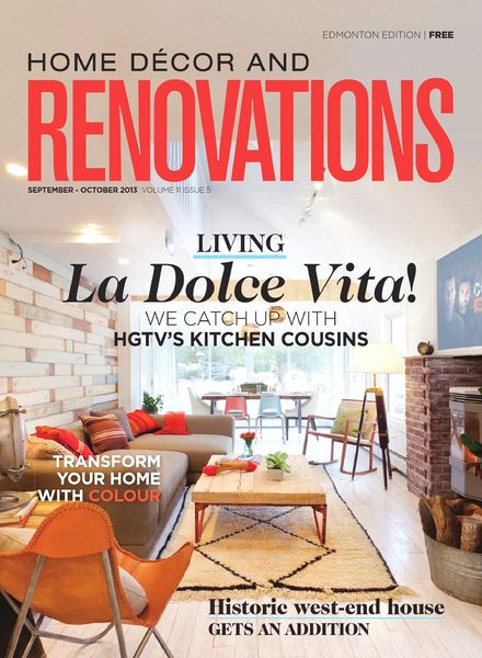 Download home decor and renovations edmonton september for Home decorating edmonton