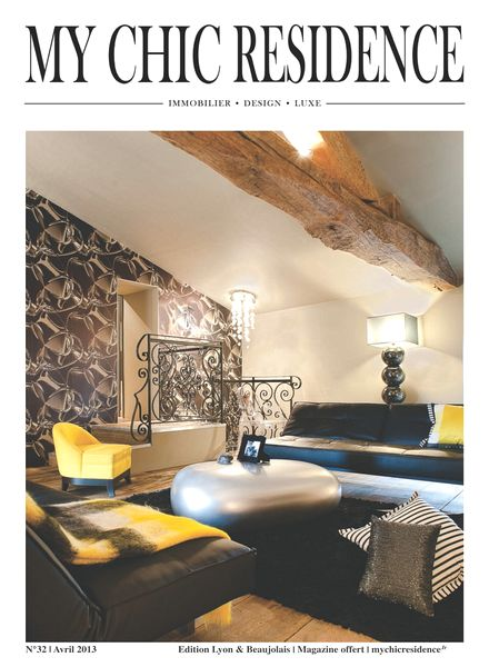 download my chic residence avril 2013 pdf magazine. Black Bedroom Furniture Sets. Home Design Ideas