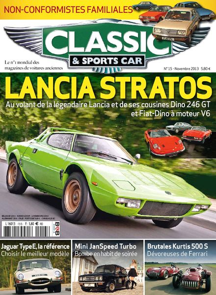 download classic sports car france n 15 novembre 2013 pdf magazine. Black Bedroom Furniture Sets. Home Design Ideas
