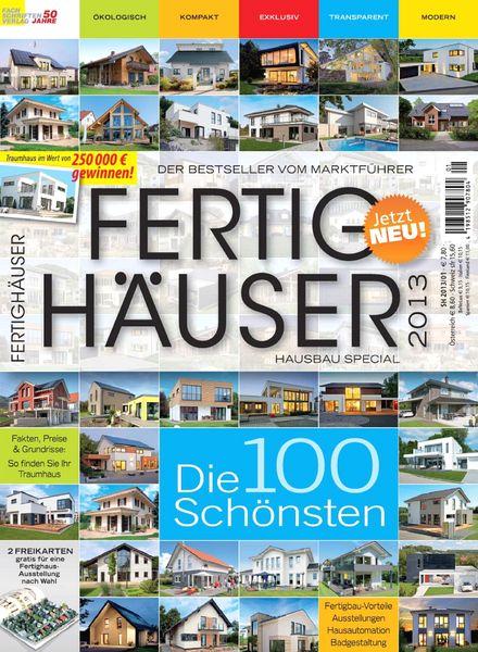 download hausbau special fertighauser 2013 pdf magazine. Black Bedroom Furniture Sets. Home Design Ideas