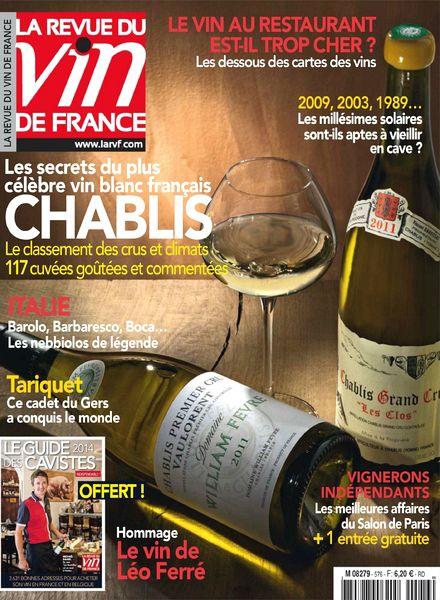 Download la revue du vin de france n 576 novembre 2013 for Revue vin de france