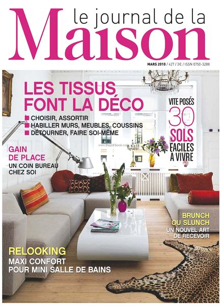 download le journal de la maison n 427 pdf magazine. Black Bedroom Furniture Sets. Home Design Ideas