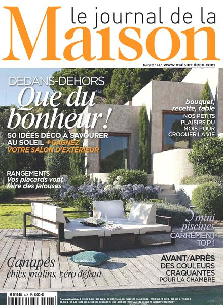 download le journal de la maison n 447 pdf magazine. Black Bedroom Furniture Sets. Home Design Ideas