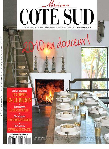download maison cote sud n 121 pdf magazine. Black Bedroom Furniture Sets. Home Design Ideas