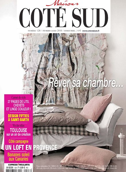 download maison cote sud n 128 02 03 2011 pdf magazine. Black Bedroom Furniture Sets. Home Design Ideas