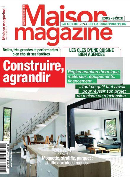 download maison magazine hors serie n 46 le guide 2014 de la construction pdf magazine. Black Bedroom Furniture Sets. Home Design Ideas