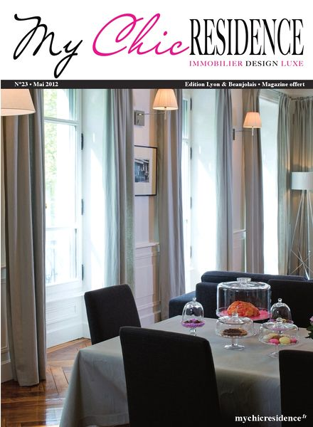 download my chic residence mai 2012 pdf magazine. Black Bedroom Furniture Sets. Home Design Ideas