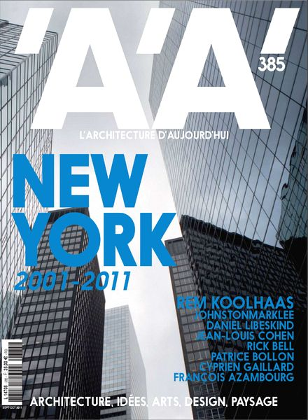 download aa l architecture d aujourd hui magazine issue 385 pdf magazine. Black Bedroom Furniture Sets. Home Design Ideas