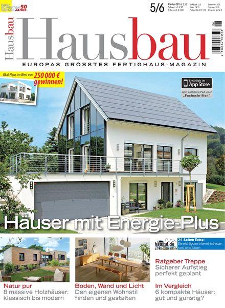 download hausbau magazin mai juni 2013 pdf magazine. Black Bedroom Furniture Sets. Home Design Ideas
