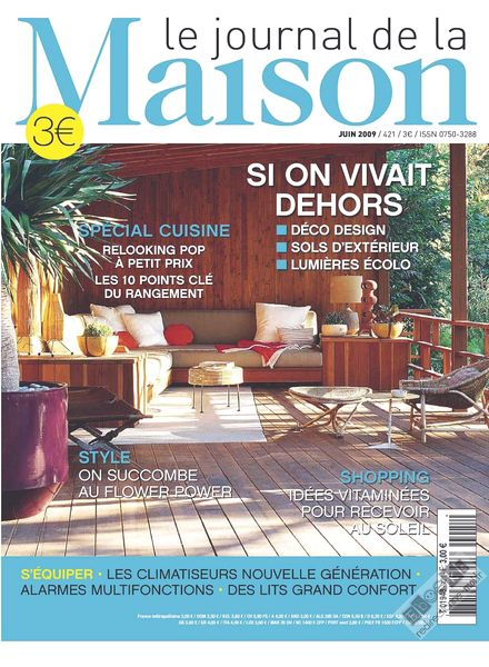 download le journal de la maison n 421 pdf magazine. Black Bedroom Furniture Sets. Home Design Ideas