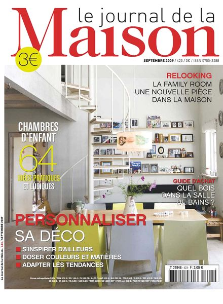 download le journal de la maison n 423 pdf magazine. Black Bedroom Furniture Sets. Home Design Ideas