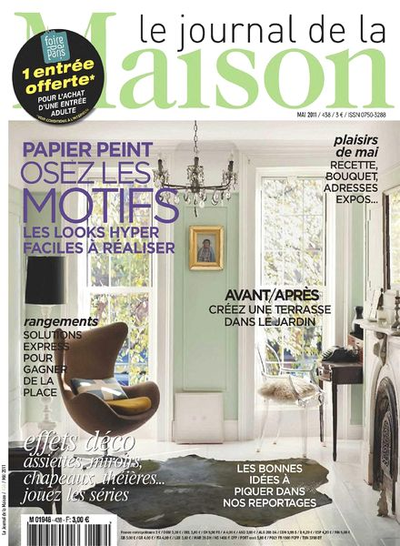 Download le journal de la maison n 438 2011 05 pdf magazine for Abonnement le journal de la maison
