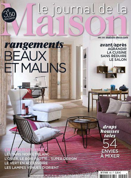 download le journal de la maison n 455 avril 2013 pdf magazine. Black Bedroom Furniture Sets. Home Design Ideas