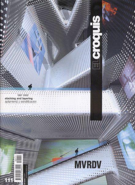 Download el croquis 111 mvrdv 1997 2002 pdf magazine for El croquis pdf