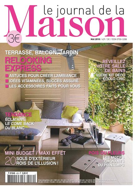 download le journal de la maison n 429 pdf magazine. Black Bedroom Furniture Sets. Home Design Ideas