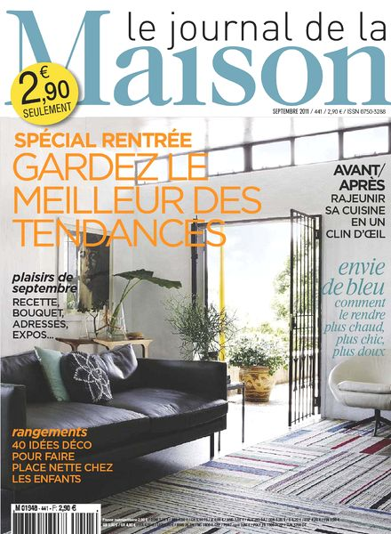 download le journal de la maison n 441 pdf magazine. Black Bedroom Furniture Sets. Home Design Ideas