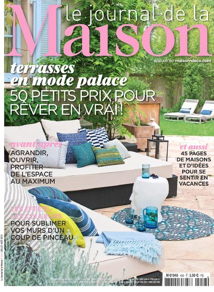 download le journal de la maison n 458 juillet aout 2013 pdf magazine. Black Bedroom Furniture Sets. Home Design Ideas