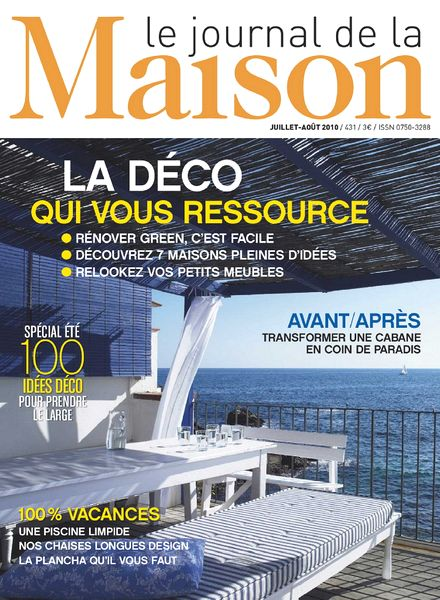 download le journal de la maison n 431 pdf magazine. Black Bedroom Furniture Sets. Home Design Ideas