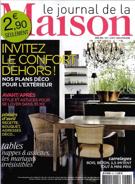 download le journal de la maison n 437 2011 04 pdf magazine. Black Bedroom Furniture Sets. Home Design Ideas