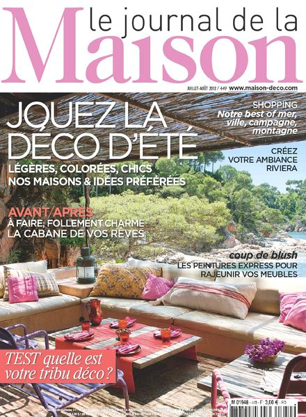 Download le journal de la maison n 449 pdf magazine for Le journal de la maison abonnement