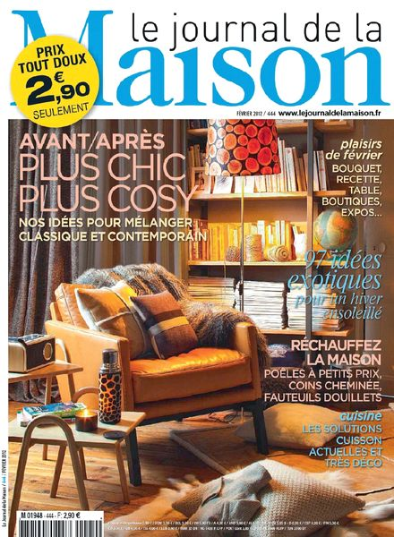 Download le journal de la maison n 444 pdf magazine for Abonnement le journal de la maison