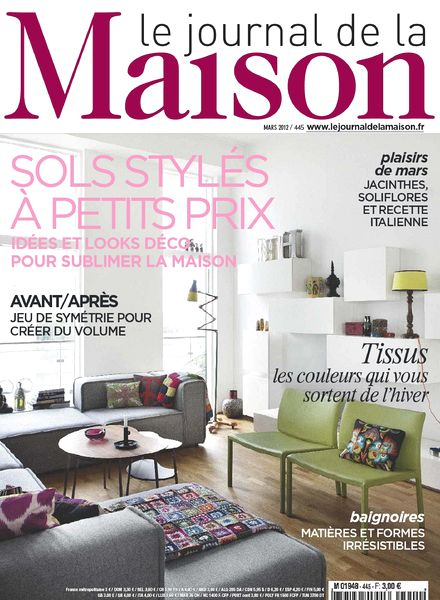 download le journal de la maison n 445 pdf magazine. Black Bedroom Furniture Sets. Home Design Ideas
