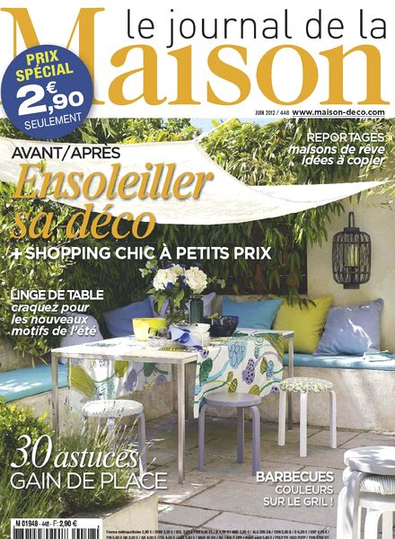 Download le journal de la maison n 448 pdf magazine for Abonnement le journal de la maison