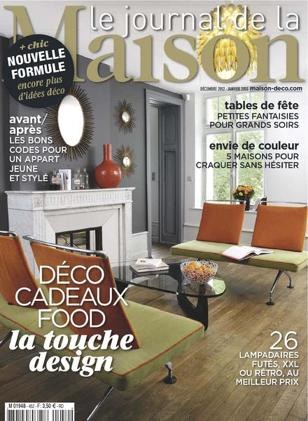 download le journal de la maison n 452 decembre 2012 janvier 2013 pdf magazine. Black Bedroom Furniture Sets. Home Design Ideas