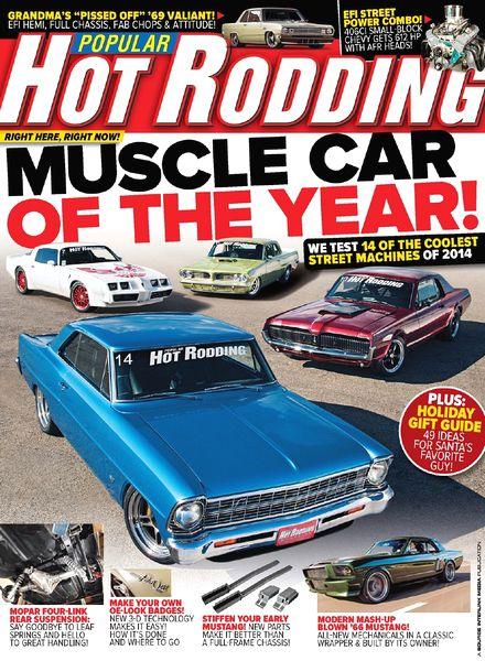 Popular Hot Rodding Magazine 1969 - Near Complete Year - 10 Full Issues